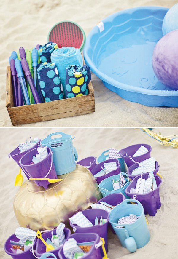 beach party toy favors