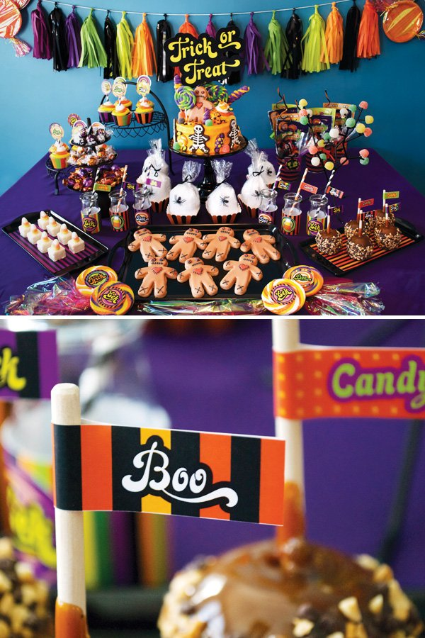 halloween candyland party