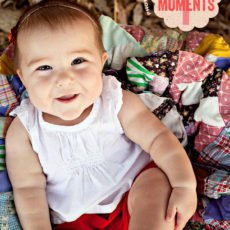 diy photo tips for shooting kids milestone moments
