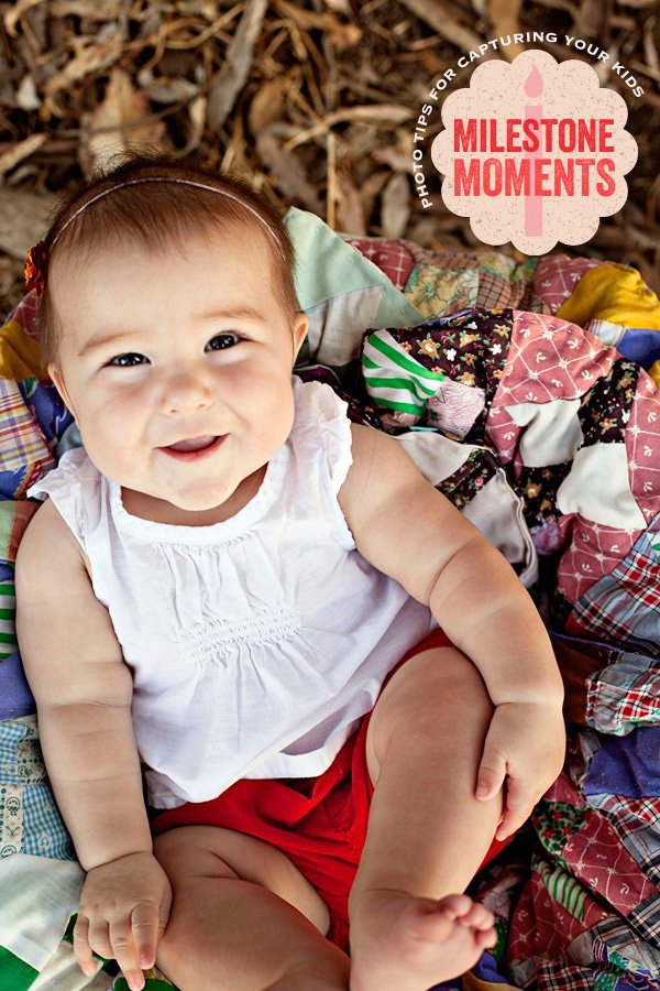 diy photo tips for kids milestone moments