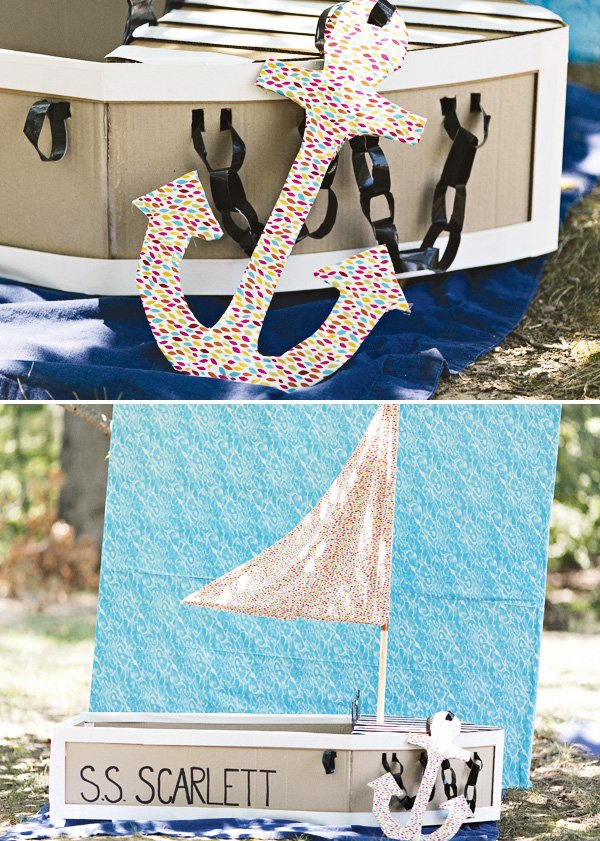 fabric diy anchor