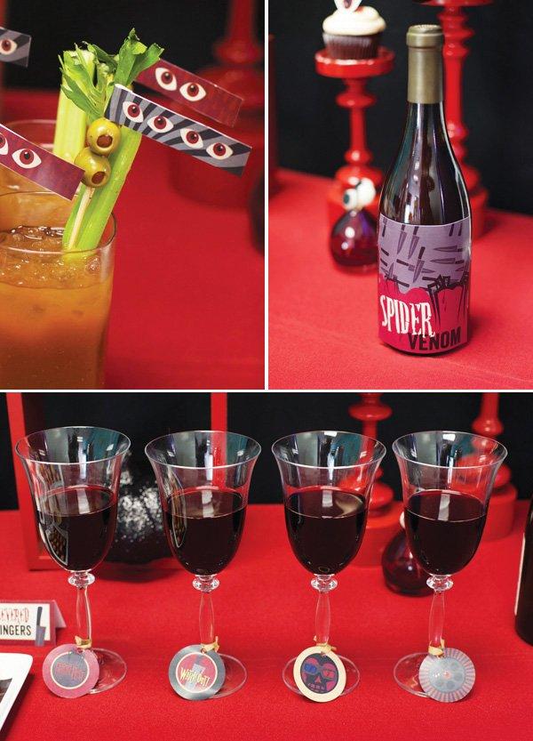 fright fest drink paper details