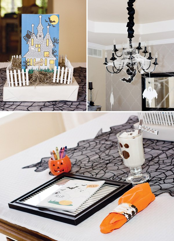ghostly affair halloween party ideas