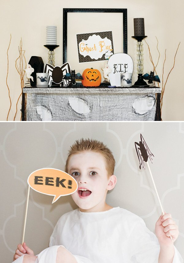 ghost party with decoration ideas