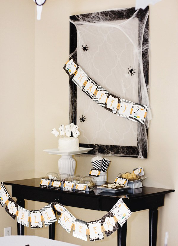 ghostly affair halloween ideas