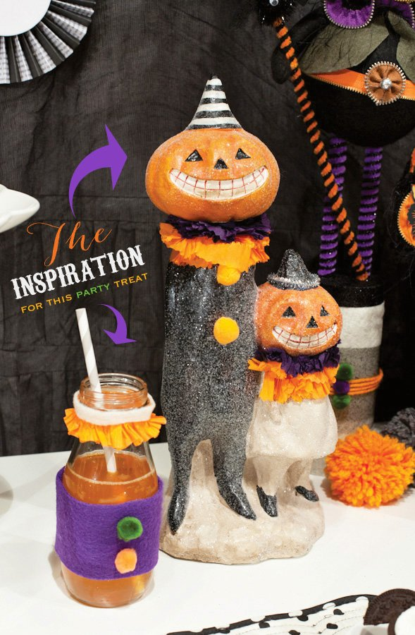 vintage halloween party ideas
