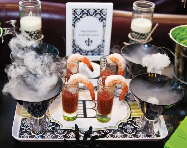 halloween shrimp cocktail