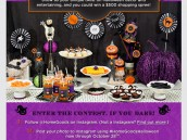 HomeGoods Halloween Instagram Contest