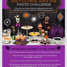 HomeGoods Halloween Instagram Contest