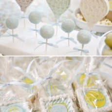 hot air balloon lollipops