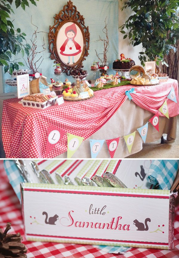Little red riding hood baby shower