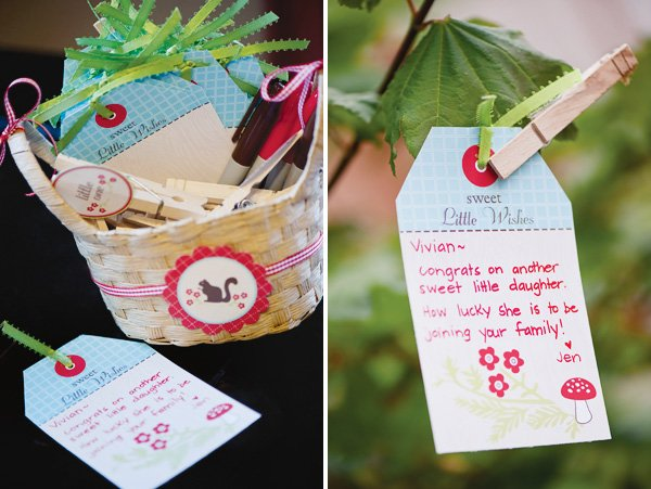 Wishing tree activity and tags