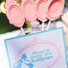 looking glass mirror lollipops