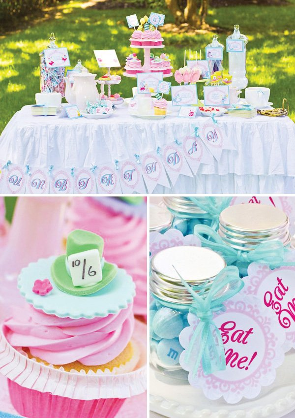 mad hatter dessert table