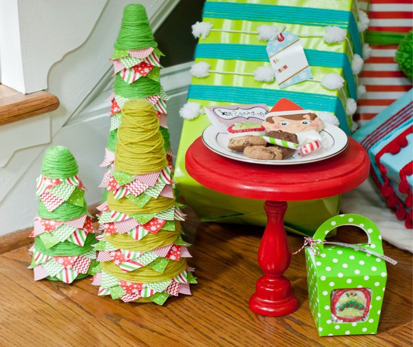 A magical elf christmas party hostess with the mostess - Decoracion navidad infantil ...