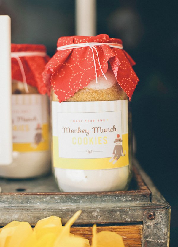 monkey cookie favors