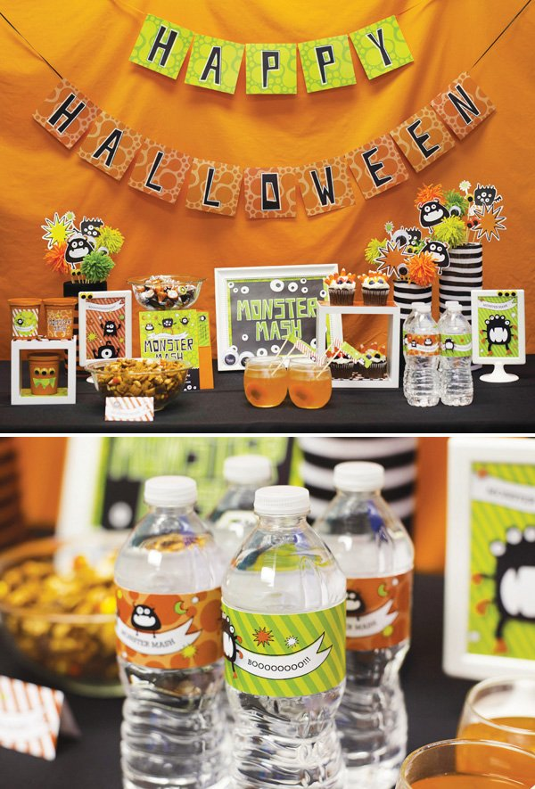 monster mash halloween collection