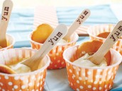orange candy cups