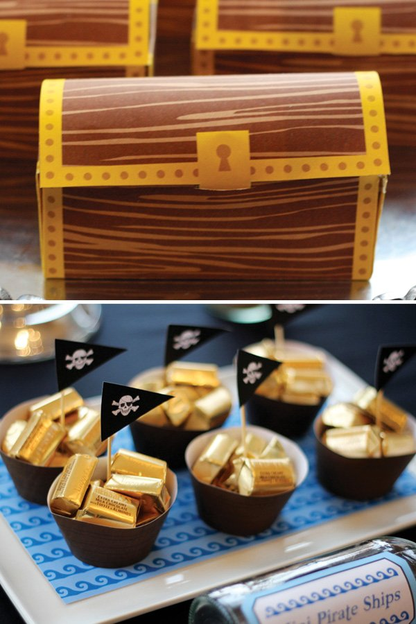 paper treasure chest