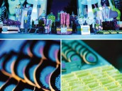 peacock candy bar