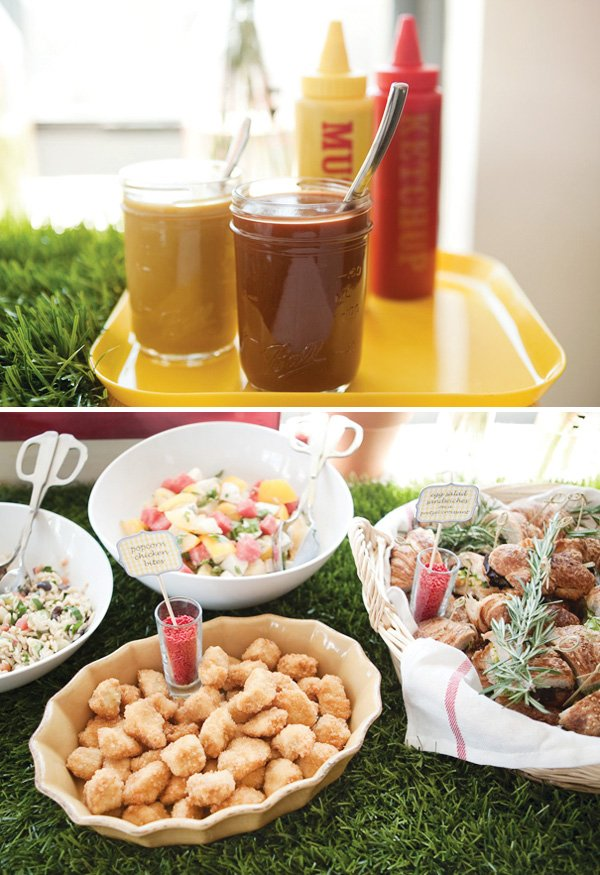 picnic party food