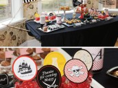 pirate ship dessert table