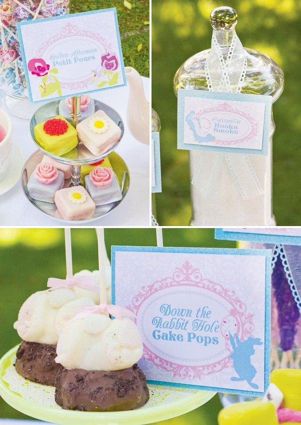 rabbit hole cake pops
