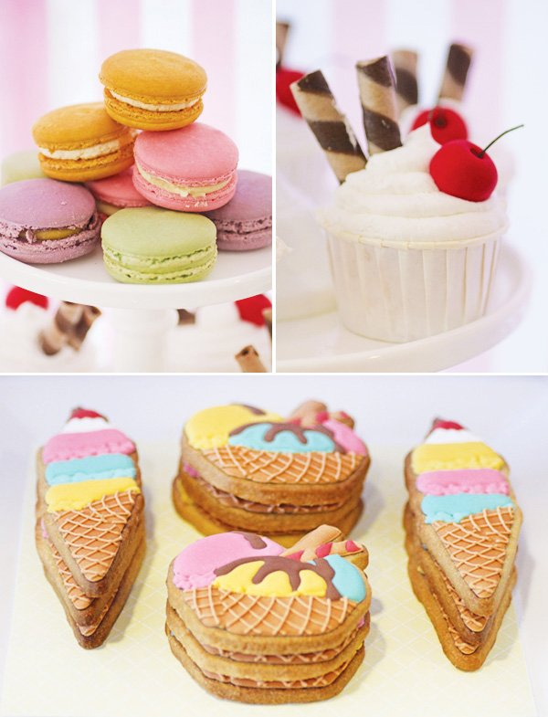 waffle cone cookies