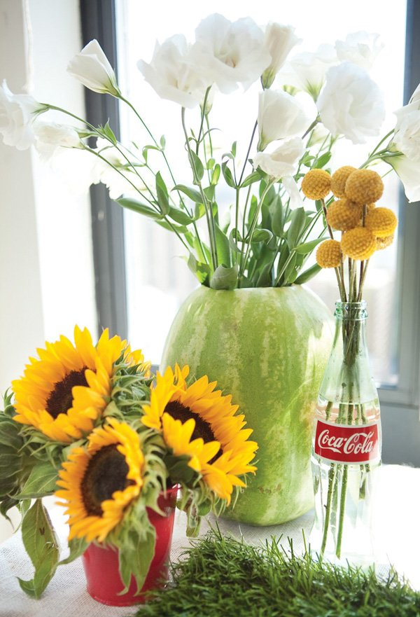 Sunflower Themed Baby Shower Decorations