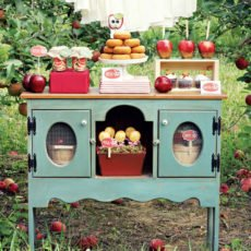 apple orchard dessert table
