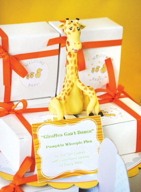 giraffe whoopee pie boxes