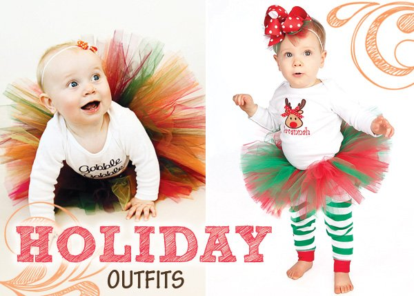 holiday tutus for infants