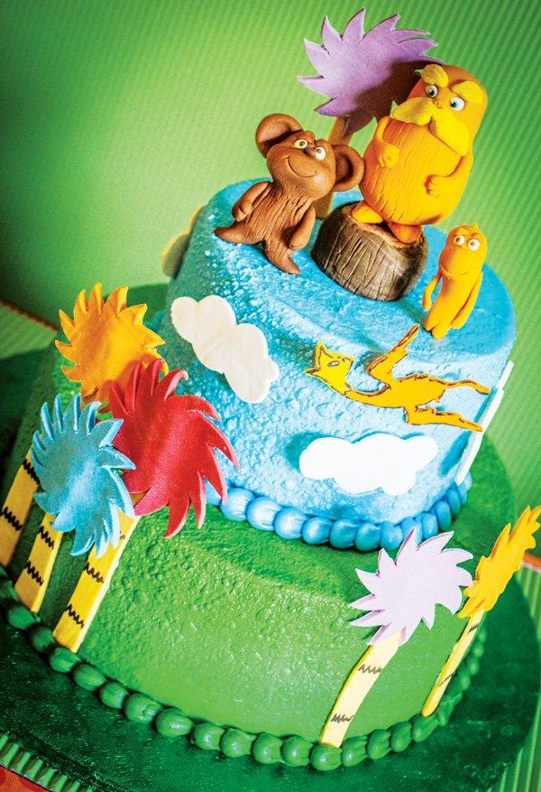 lorax inspired cake