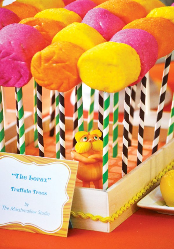 Lorax candy marshmallows