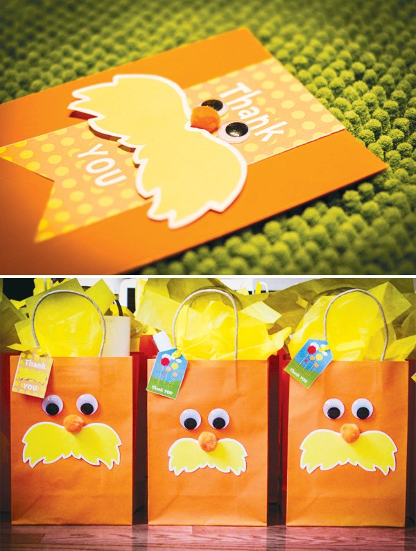 Lorax party favors