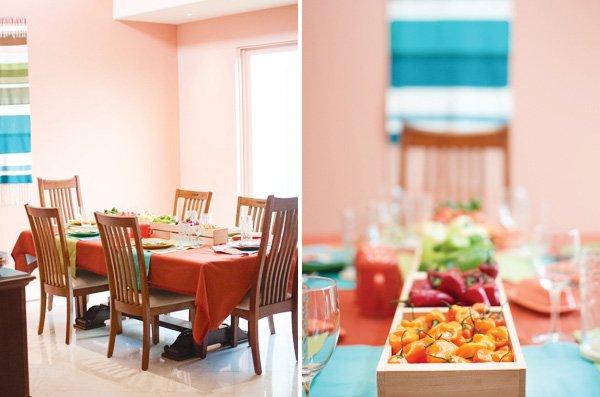southwest table decor