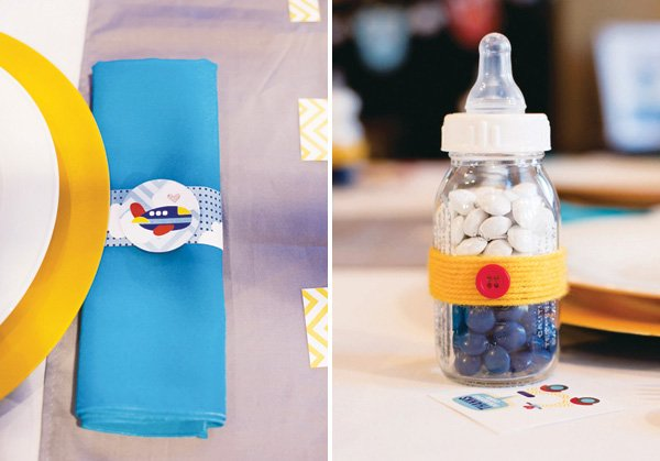 baby shower bottle favors