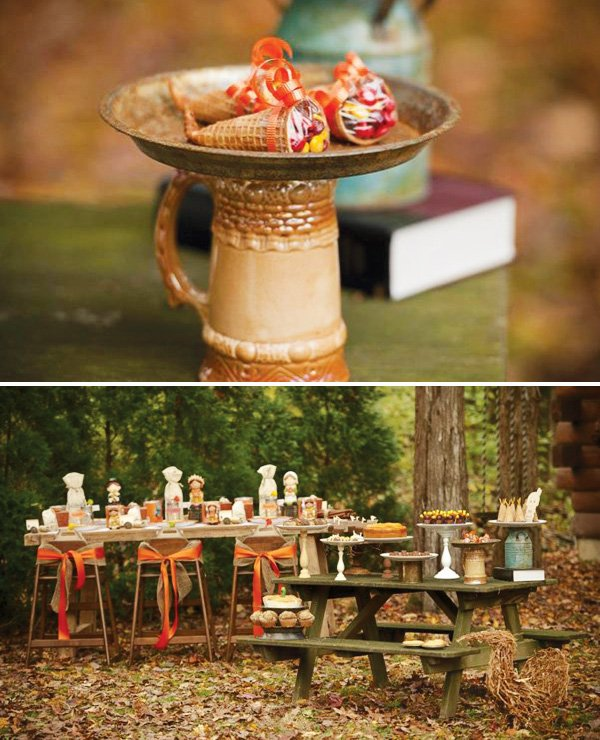 be thankful outdoor tablescape