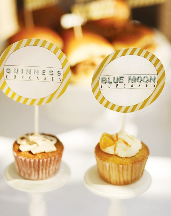 beer cupcakes