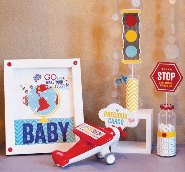 boy baby shower printables