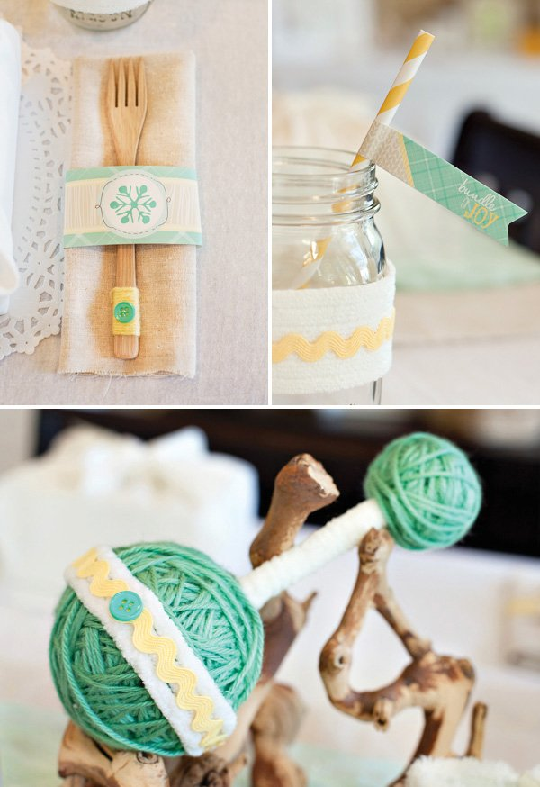 diy yarn rattle