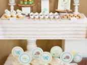 bundle up baby hwtm baby shower dessert table