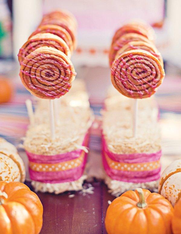 fall carnival desserts