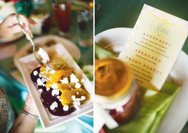 farm to table bridal shower