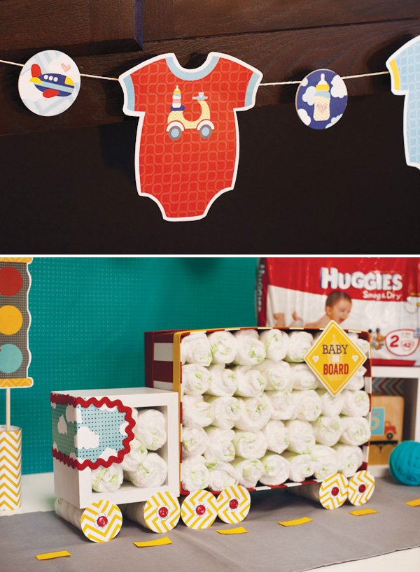 huggies diaper cake