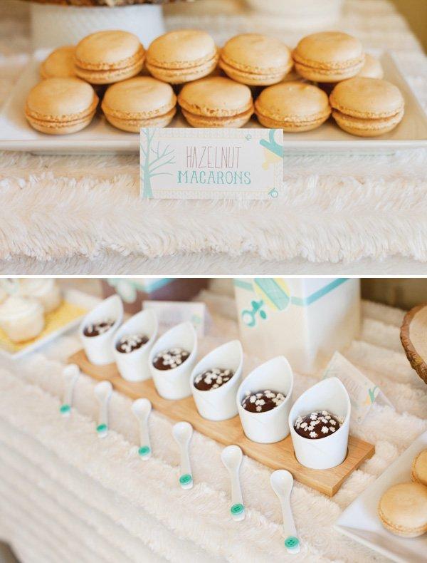hwtm winter baby shower dessert table for huggies
