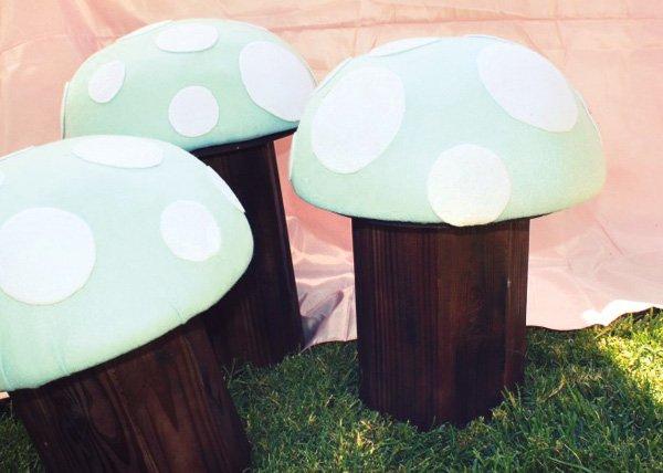 kids mushroom stools