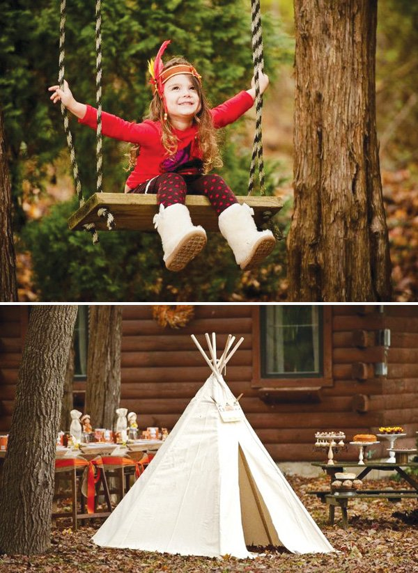 kids thanksgiving tee pee
