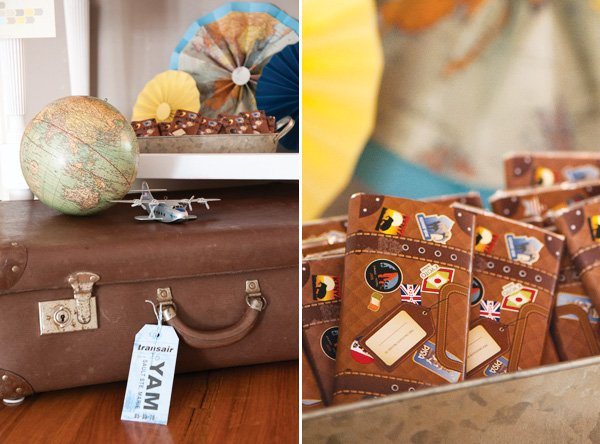 luggage chocolate bar wrappers