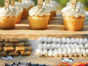 outdoor party desserts